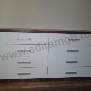 Comoda Brown&White - 1- AdiraMOB