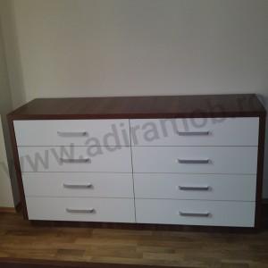 Comoda Brown&White - 2- AdiraMOB