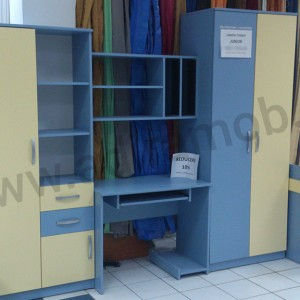 Dormitor baieti albastru - 1- AdiraMOB