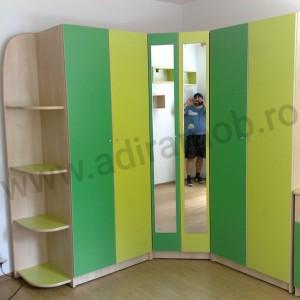 Dormitor baieti verde - 1- AdiraMOB
