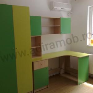 Dormitor baieti verde - 2- AdiraMOB